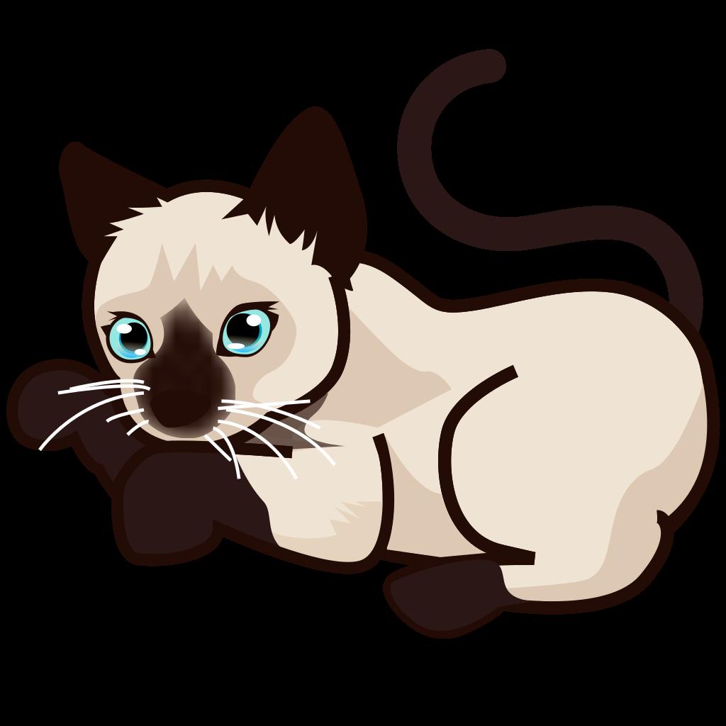 clipart free stock Kitten transparent siamese. File peo svg wikipedia