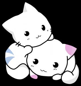 vector free Cute meliodas pinterest clip. Kittens clipart illustration.