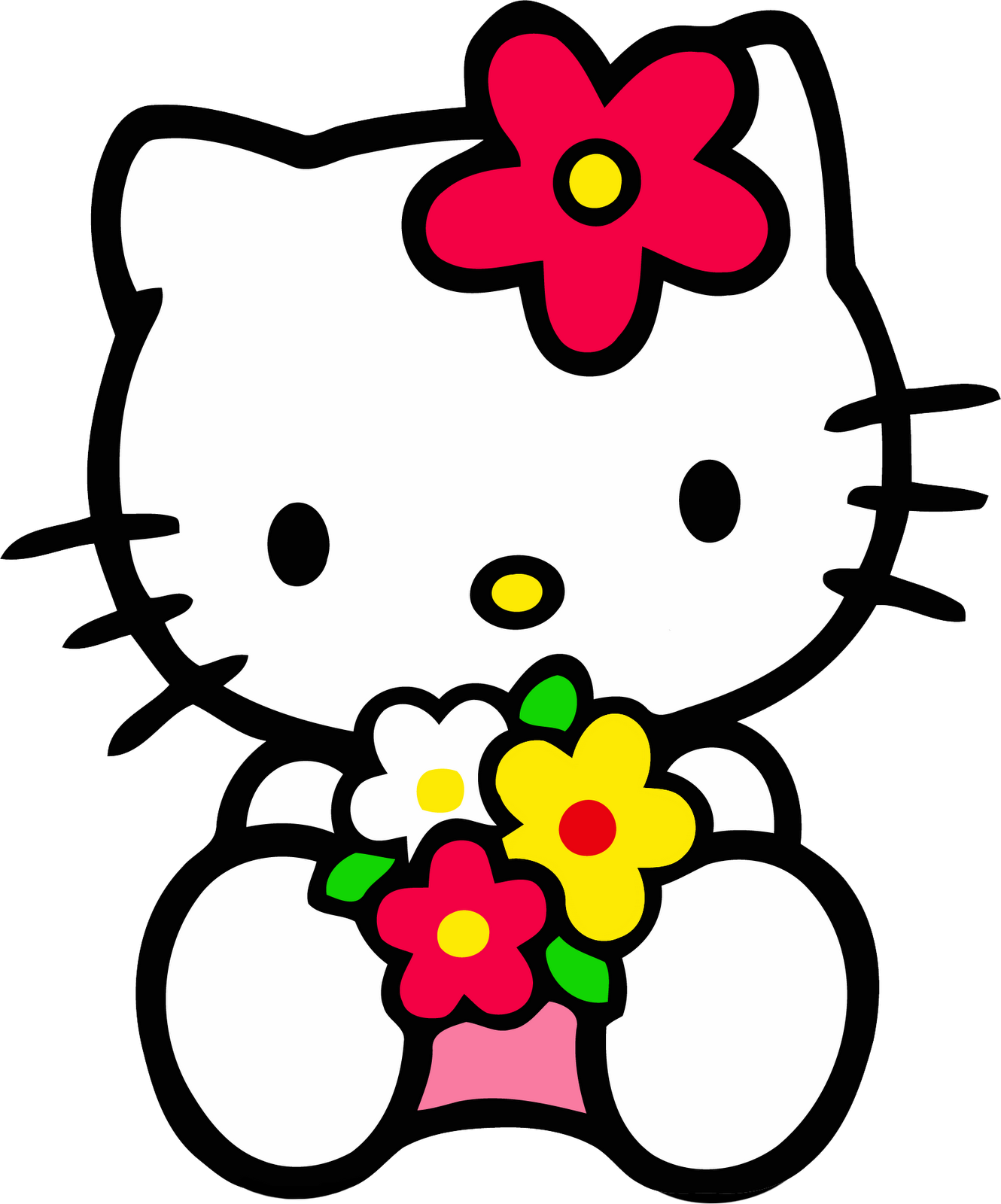 vector library Imageslist com hello images. Kitty clipart.