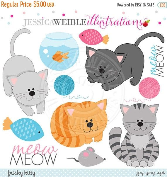 png Frisky cute for card. Kitty clipart digital