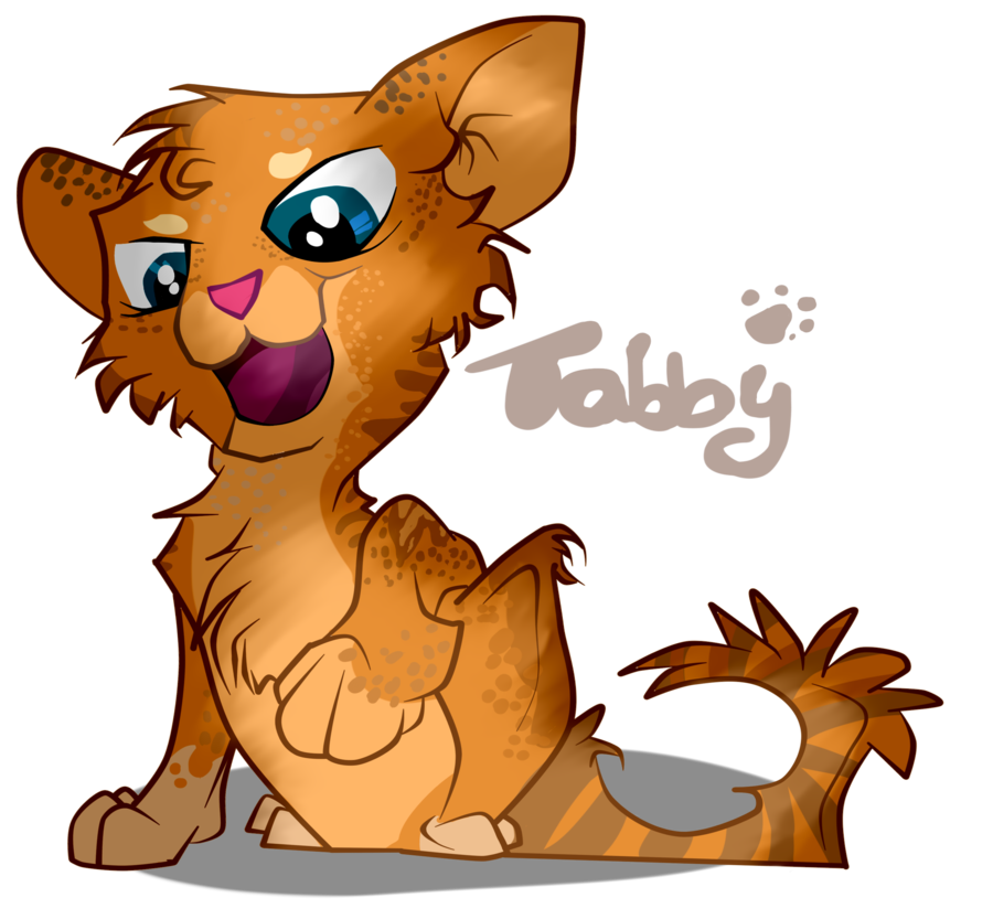 svg royalty free stock Kitty clipart ginger cat. Transparent free .