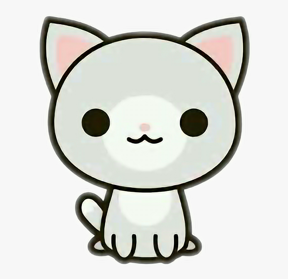 graphic stock Kitty clipart kawaii. Cat clip art png.