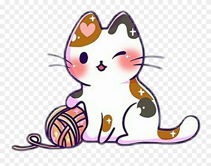 vector free download Cute cat kitten kittens. Kitty clipart kawaii.