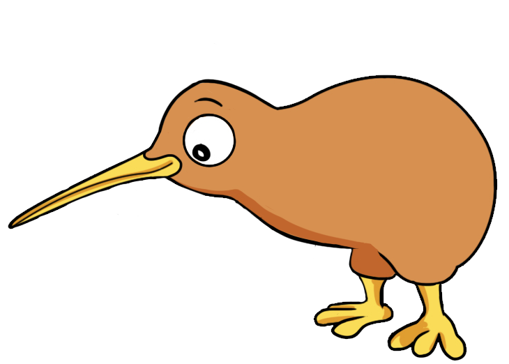jpg royalty free library Bird maori free on. Kiwi clipart animal sea nz.
