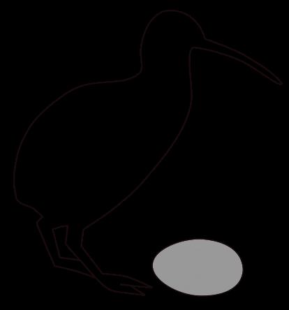 clip art free download Kiwi clipart animal sea nz. Life in the cenozoic.