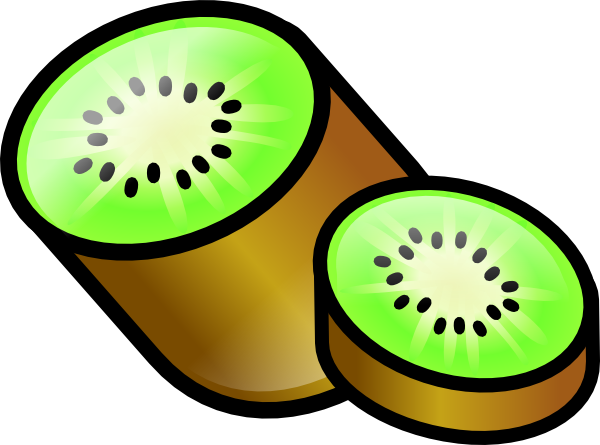 vector transparent download Clipart kiwi. Torisan kiwifruit clip art