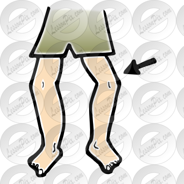 png freeuse download Picture for classroom therapy. Knee clipart.