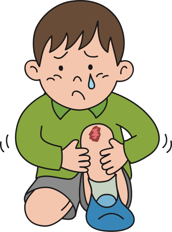 svg library download Drawing pain boy. Knee injury kneeling crying