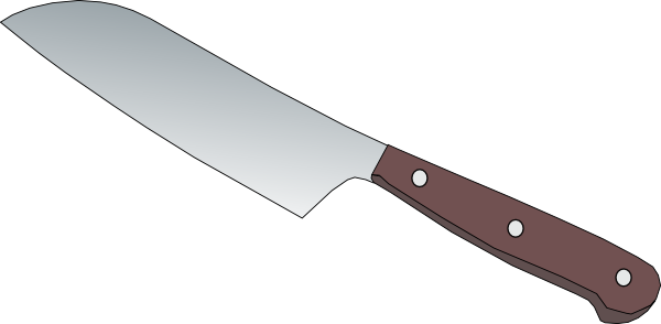 picture freeuse download Knife clipart chef's knife. Kitchen clip art at.
