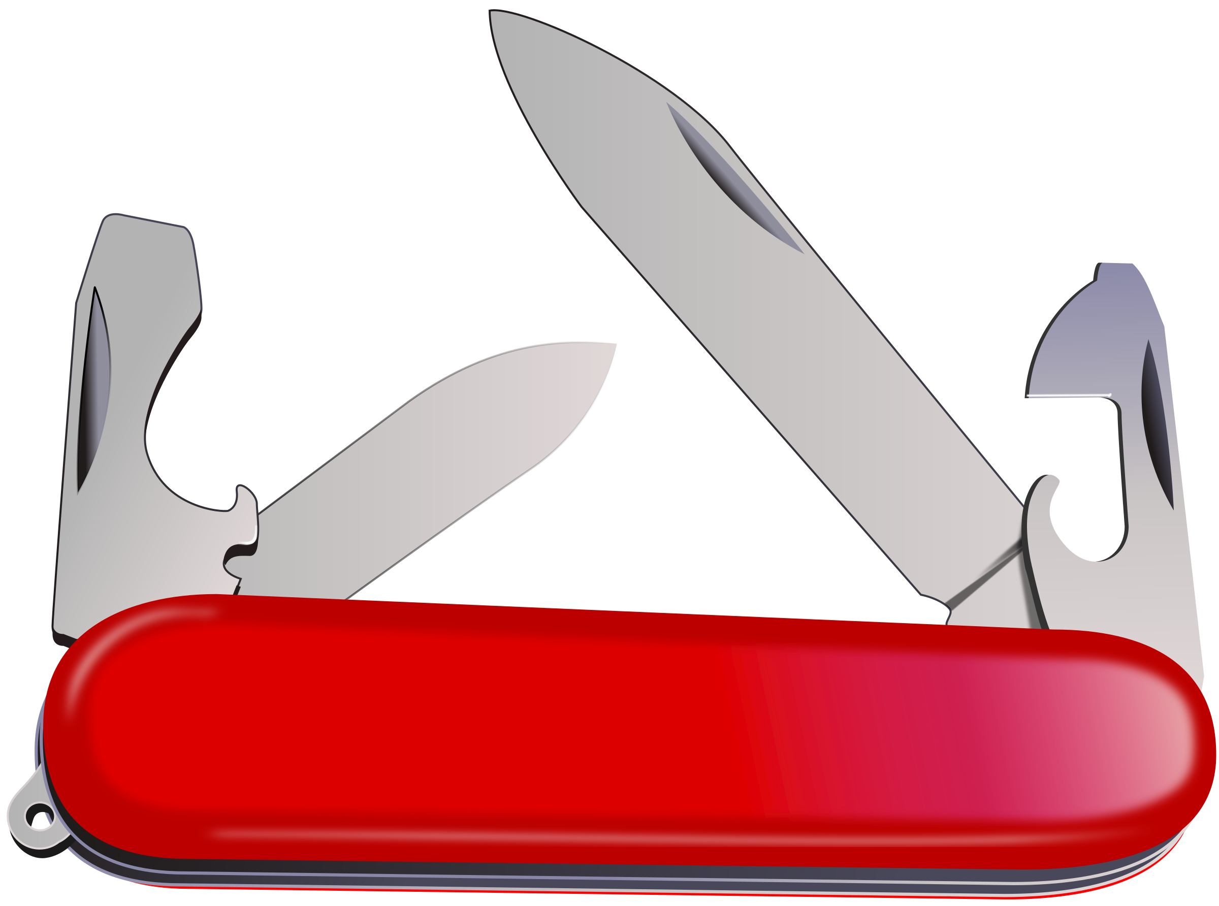 clip transparent . Swiss army knife clipart