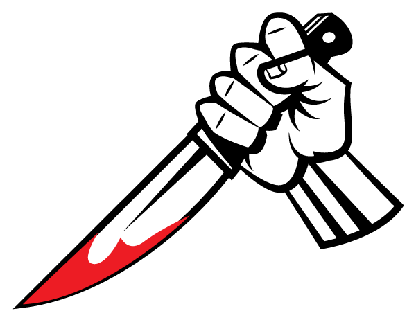 svg transparent Bloody knife clipart. Free download clip art