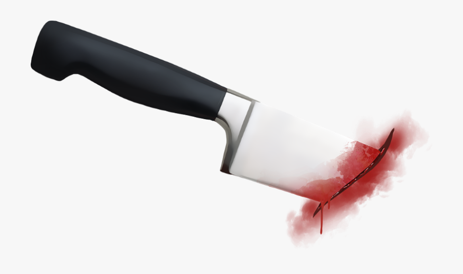 graphic free Ftestickers freetoedit png with. Bloody knife clipart
