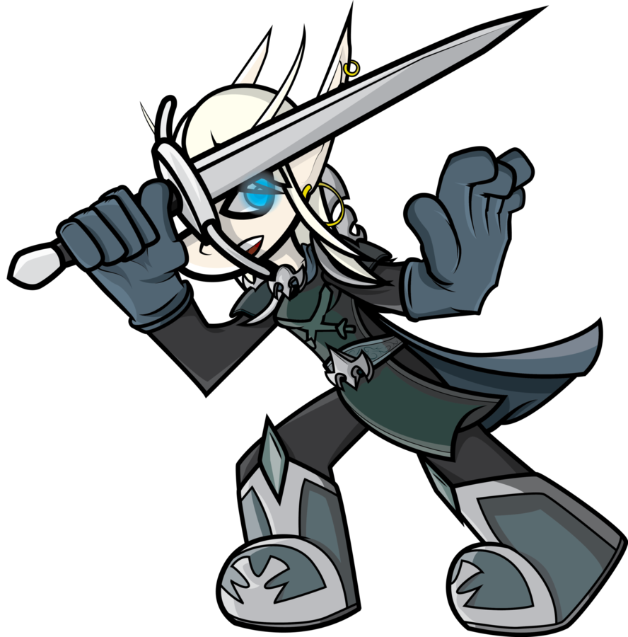clip library stock Knight clipart comic. Paid ashiraya blood elf.