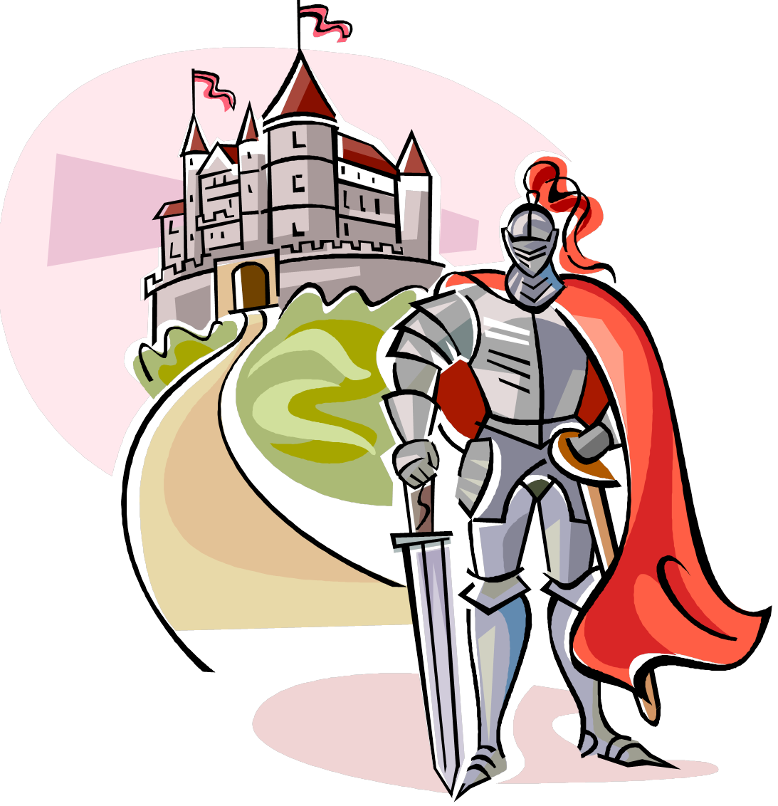 svg black and white Knight clipart comic. Abcreads the life for.