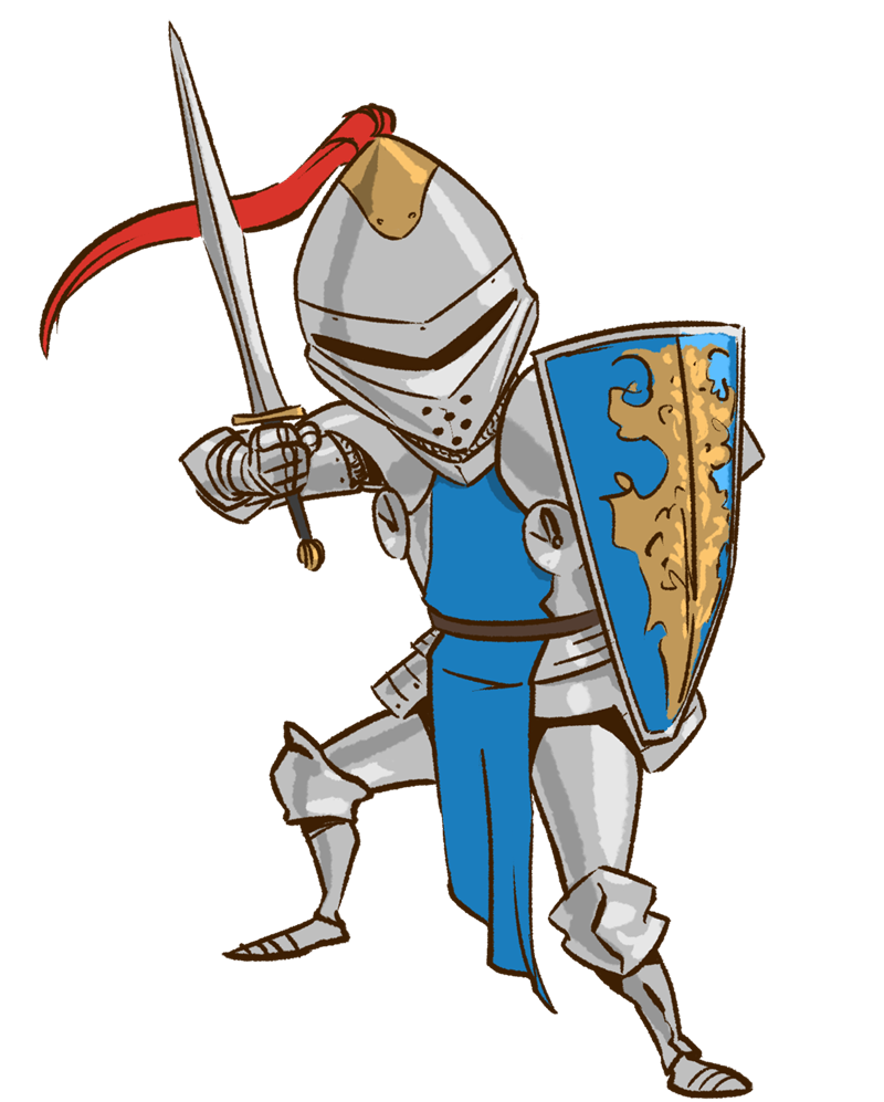 clipart freeuse stock Frames illustrations hd images. Knight clipart.