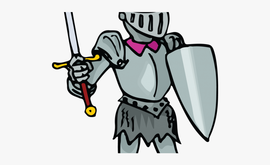 image library . Knight in shining armor clipart