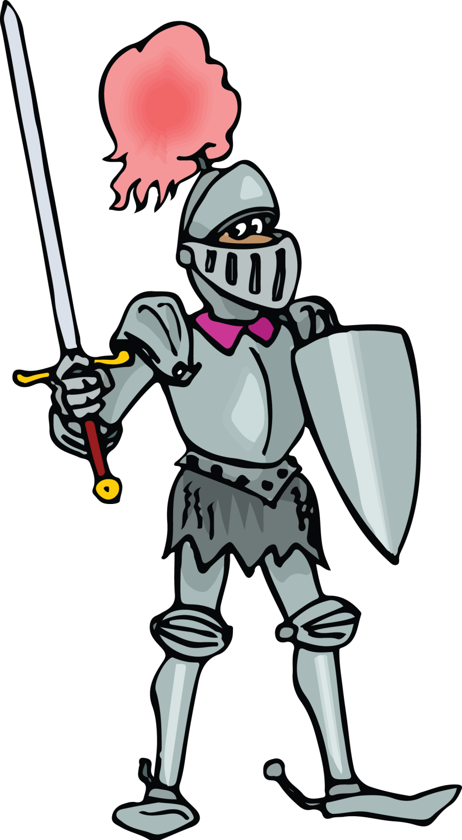 graphic free library Middle ages clip art. Knight in shining armor clipart
