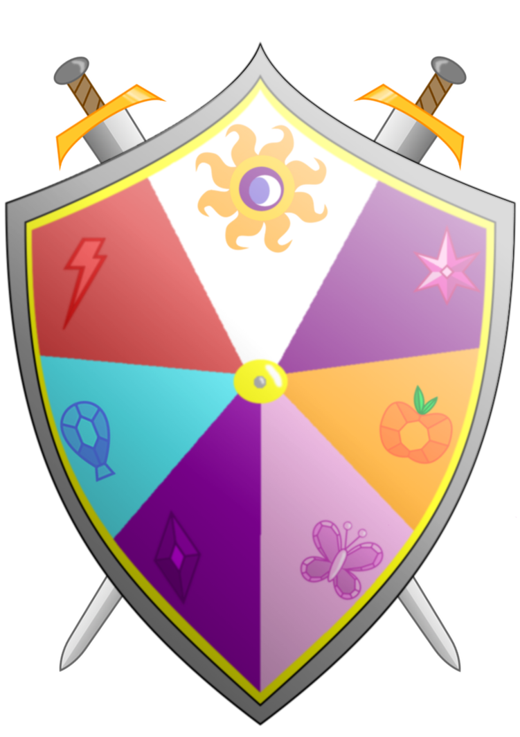 transparent download Knight shield clipart. Knights of harmony and