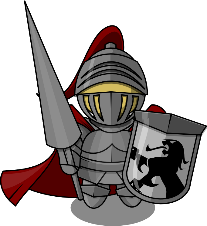 clip black and white Knights clipart. Free knight clip art.