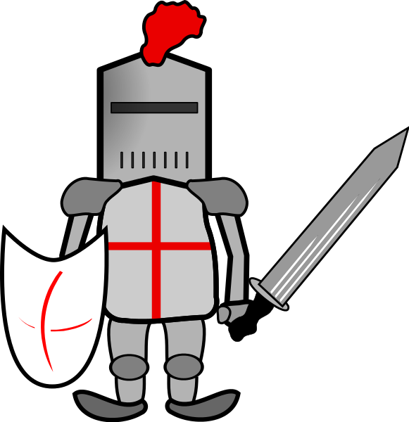 clipart free stock Free knight the cliparts. Knights clipart guerrero.