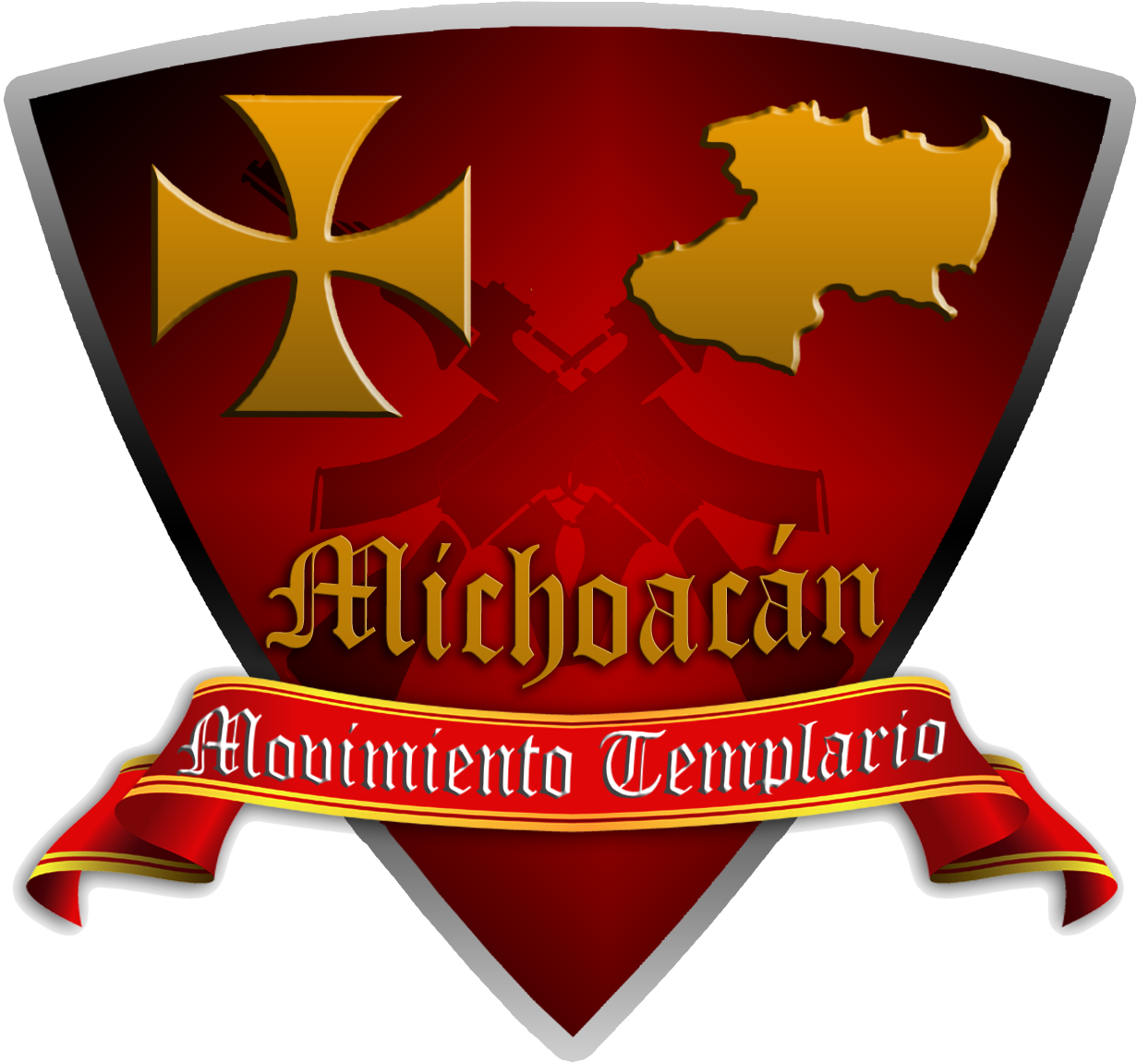 svg transparent Knights clipart guerrero. Templar cartel wikipedia .