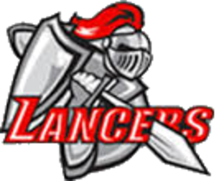svg royalty free The north scott lancers. Knights clipart lancer.