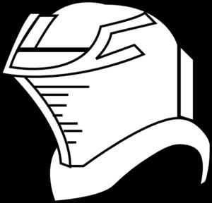 clip free stock Helmet Outline Clip Art at Clker