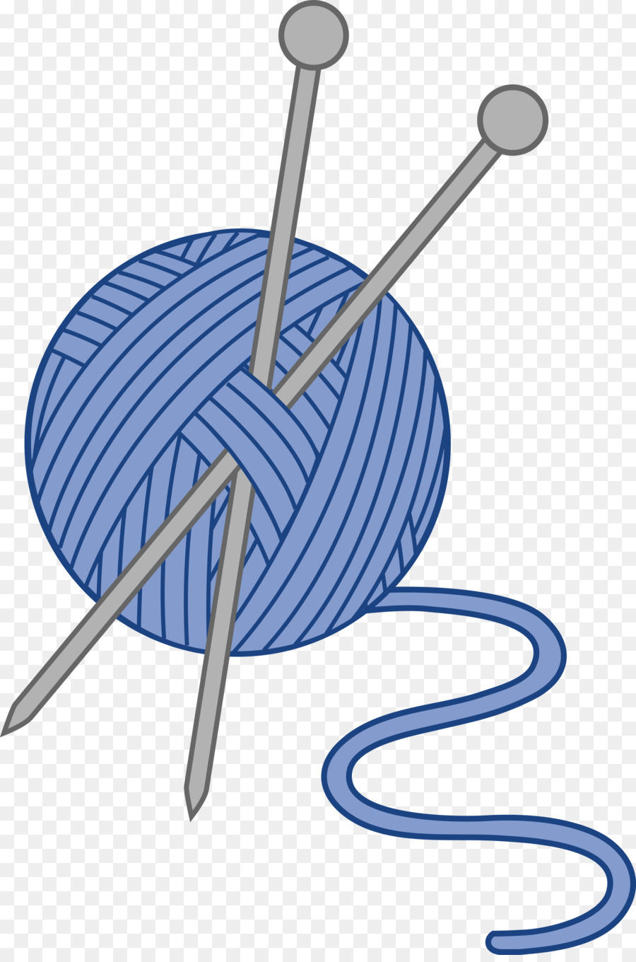 royalty free library Needles needle hand sewing. Knitting clipart.