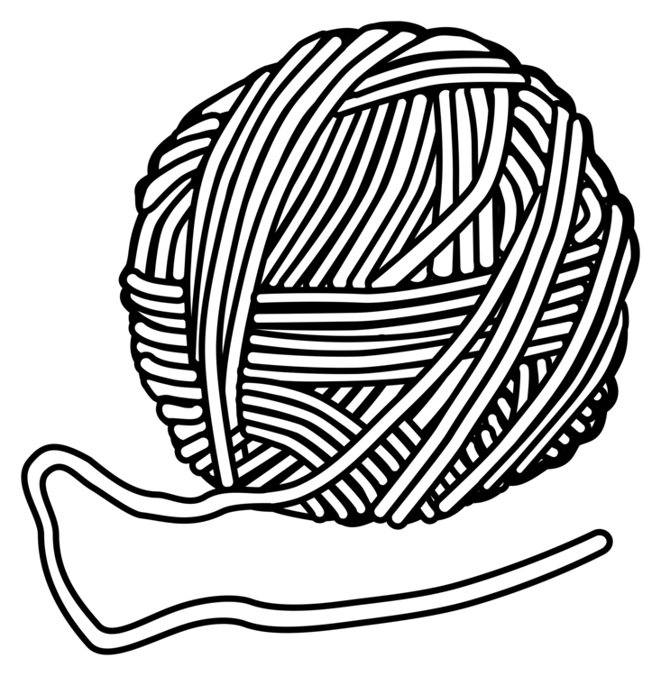 black and white library Yarn Knitting needle Wool Hand