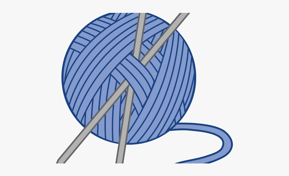 freeuse library Knitting needles clipart. Cliparts yarn transparent