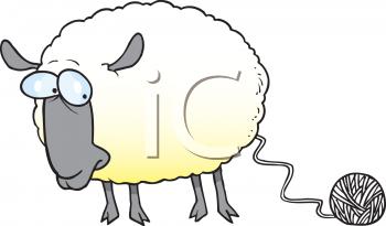 transparent Clip art royalty free. Knitting sheep clipart