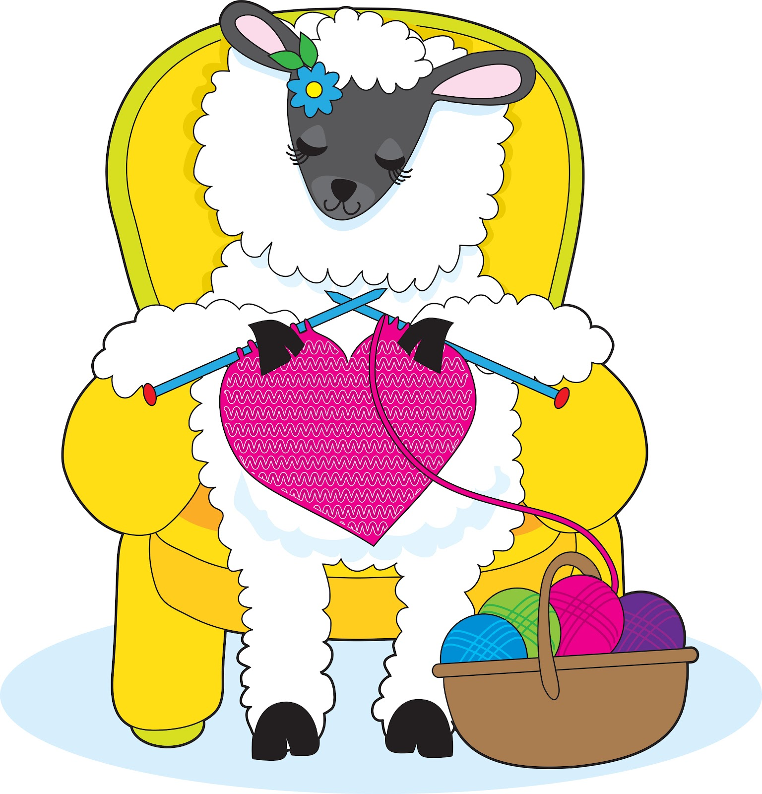 png library stock Free cliparts download clip. Knitting sheep clipart