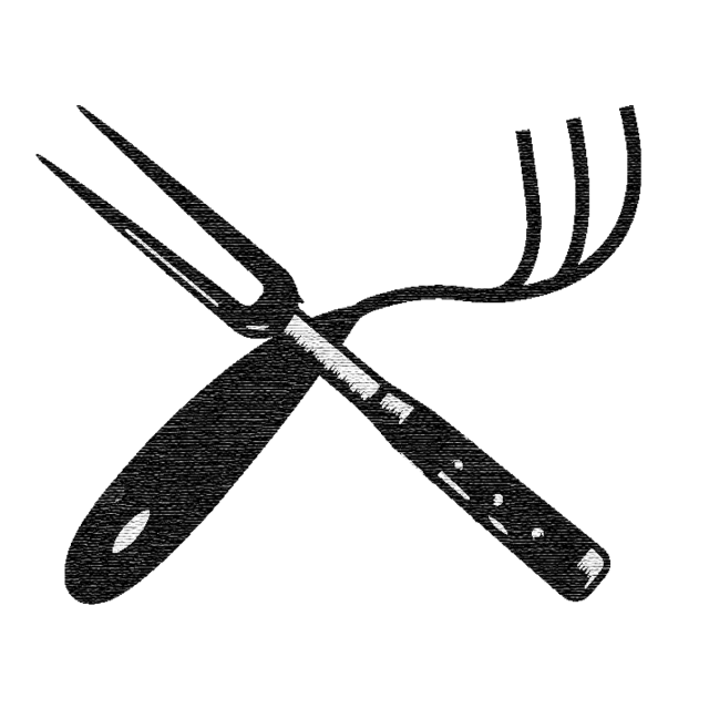 black and white library Knives vector. Kitchen rustic png and