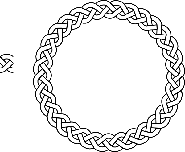 graphic free library Border png clipart best. Drawing rope
