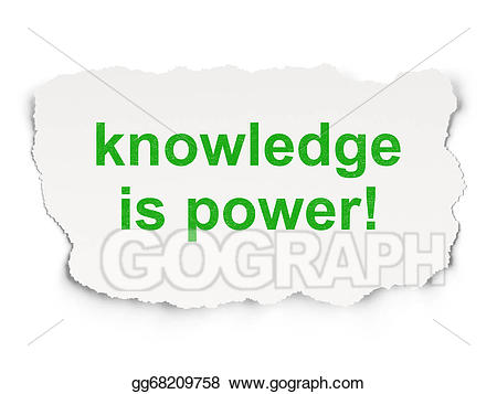 clipart black and white download Knowledge is power clipart. Stock illustrations education concept