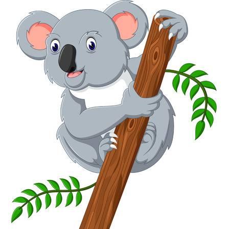clip art black and white download Koala bear clipart. Station