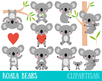 clip black and white stock Koalas clip art australia. Koala bear clipart