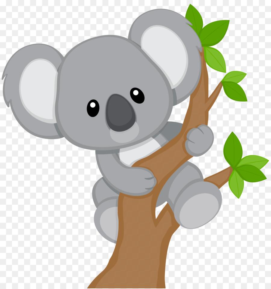 graphic royalty free library Koala bear clipart. Baby billabong zoo clip