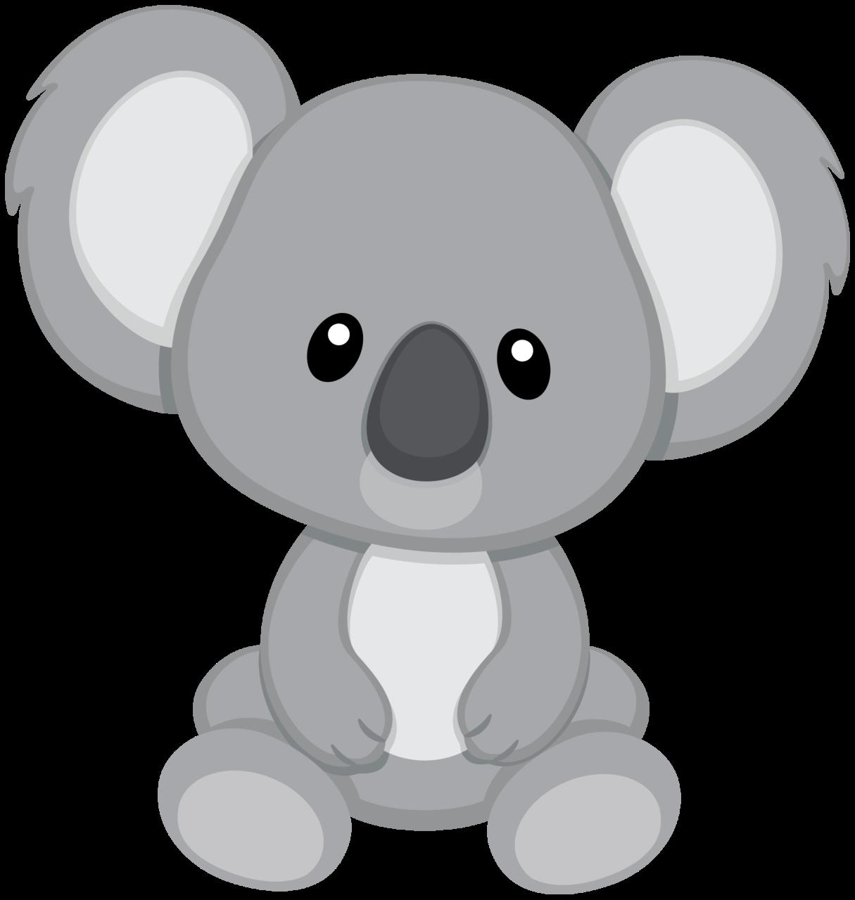 clip art black and white library Koala bear clipart.  df dc orig
