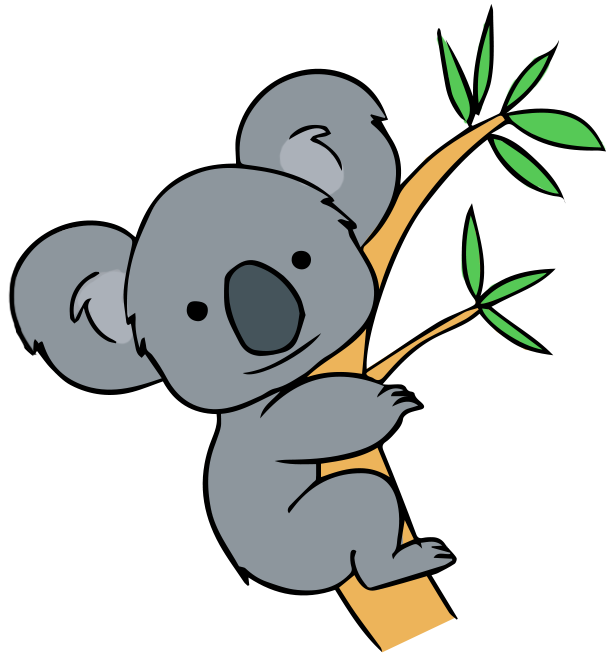 clipart transparent library Koala clipart. At getdrawings com free.