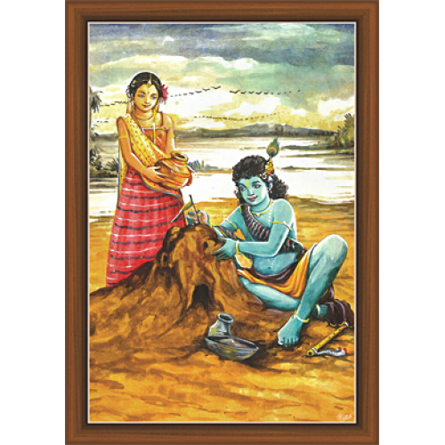 graphic library library Radha Krishna Paintings