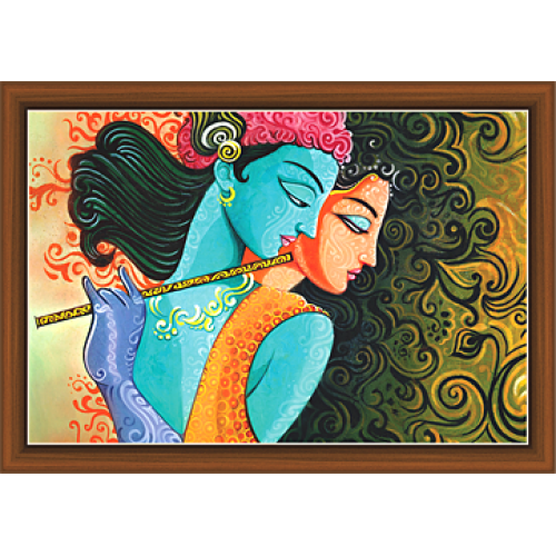 banner library download Radha Krishna Paintings