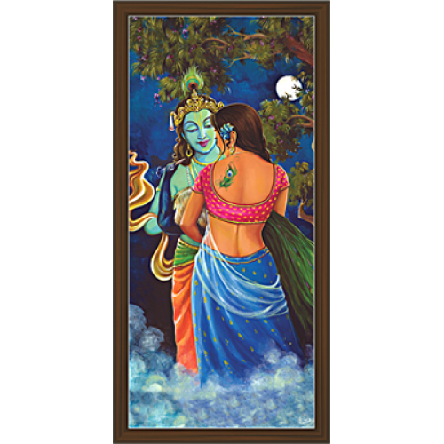 picture transparent library Radha Krishna Paintings