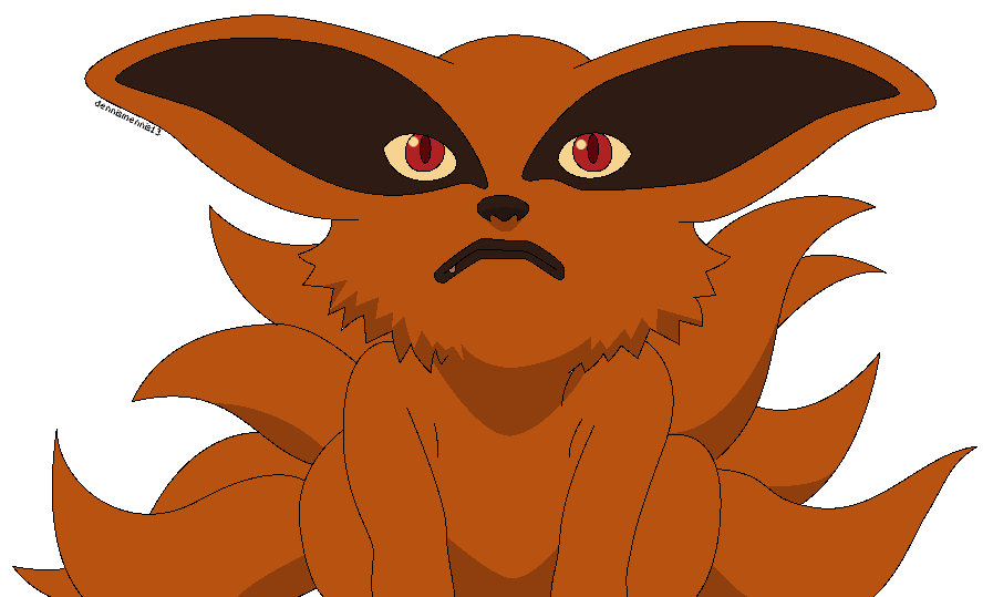 graphic transparent stock Collection of free Sai drawing tailed beast