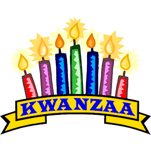 png black and white stock Kwanzaa clipart happy.  clipartlook