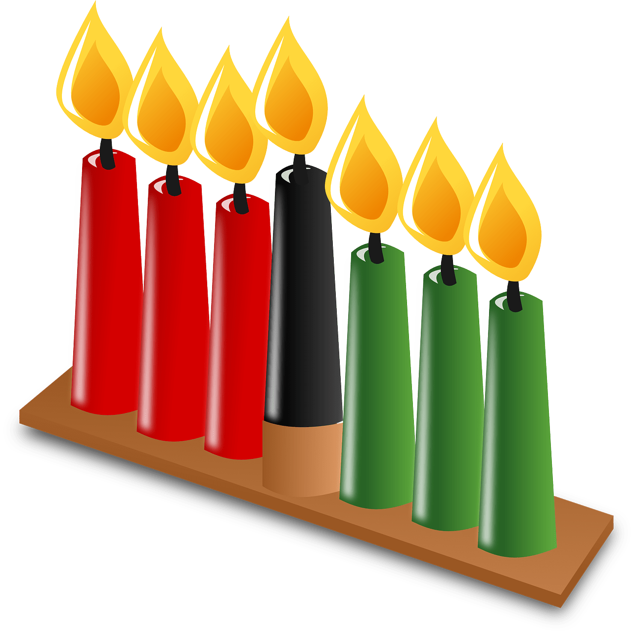 clip transparent Celebrate at the south. Kwanzaa clipart happy