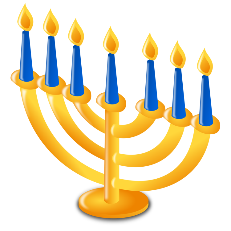 vector transparent download Chanukah is hanukkah candle. Kwanzaa clipart menorah.