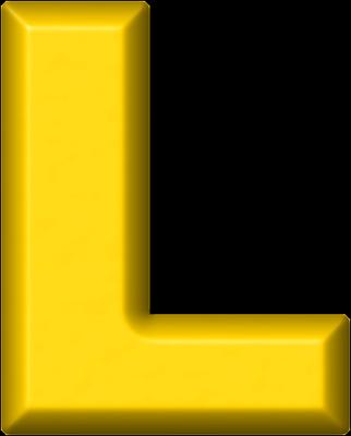 vector library stock Presentation alphabets yellow refrigerator. L clipart alphabet l.