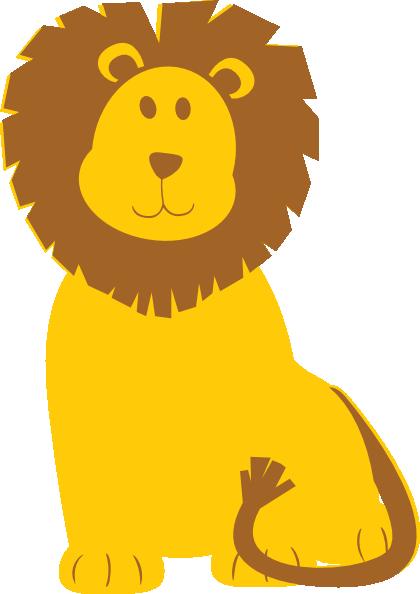svg transparent download L clipart lion. Clip art at clker.
