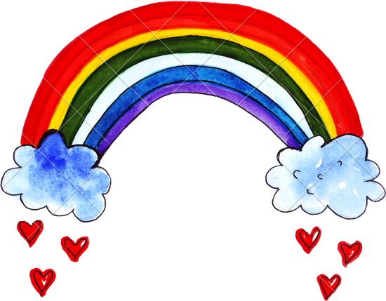 clipart freeuse stock Drawing rainbows. Rainbow images at getdrawings